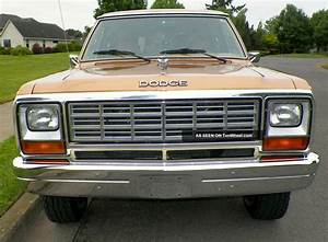 1985 Dodge Ramcharger Royal Se Prospector -