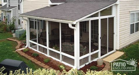 How To Enclose A Screened In Porch by Screen Room Screened In Porch Designs Pictures Patio