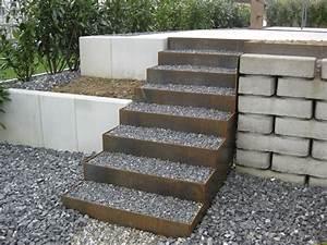 Terrassen Treppen In Den Garten : treppen im garten yasiflor gartenbau ~ Orissabook.com Haus und Dekorationen