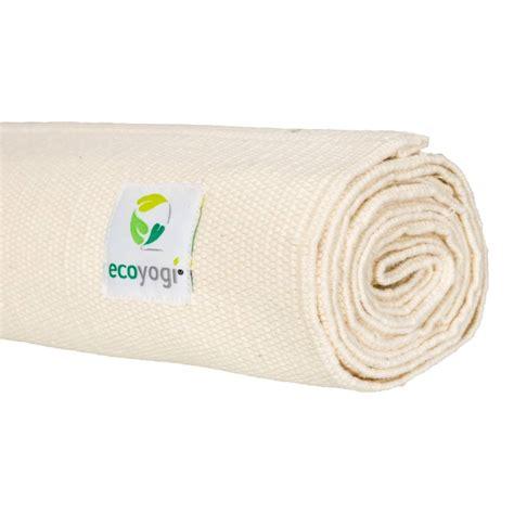 Cotton Doormat - organic mat 100 ecological cotton yogamat