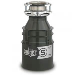 insinkerator premier badger quot 5 quot 1 2 hp garbage disposal kitchen