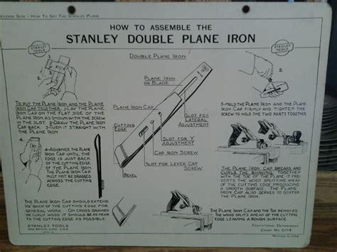assemble  stanley double plane iron educational