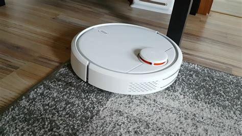 xiaomi mi robot testfahrt im wohnzimmer