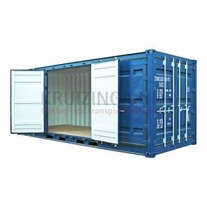 20 Fuß Container In Meter : container full side open 20 fu ~ Frokenaadalensverden.com Haus und Dekorationen