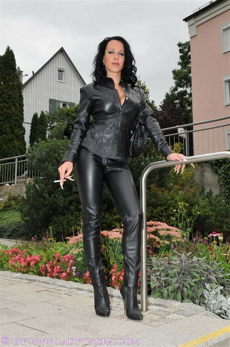 lady tasha leather  images  pinterest leather