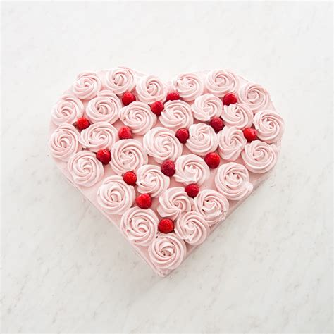 chocolate raspberry heart cake cooks country