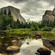 Yosemite National Park Lakes Rivers
