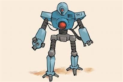 Robot Draw Cartoon Wikihow Robota Drawings Cool