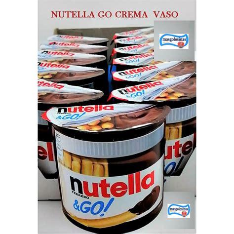 Vaso Nutella Nutella Go Ferrero Crema De Chocolate 12 Vasos