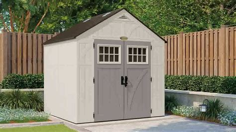 Building A Shed R by Suncast Tremont 8 X 7 Storage Shed