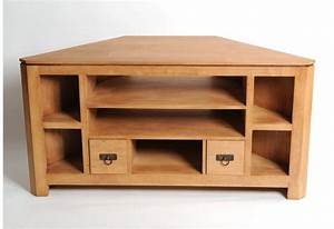 Meuble Angle Bois : meuble tv angle bois royal sofa id e de canap et ~ Edinachiropracticcenter.com Idées de Décoration