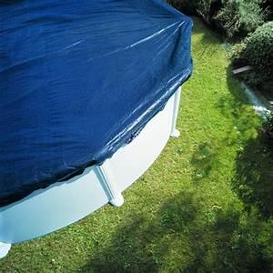 bache d39hivernage pour piscine hors sol ronde o300 cm gre With bache hivernage piscine hors sol ronde