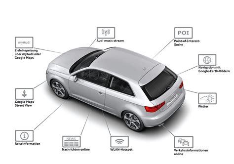 Audi Connect by Der Neue Audi A3 2012 Mmi Navigation Plus Audi Connect