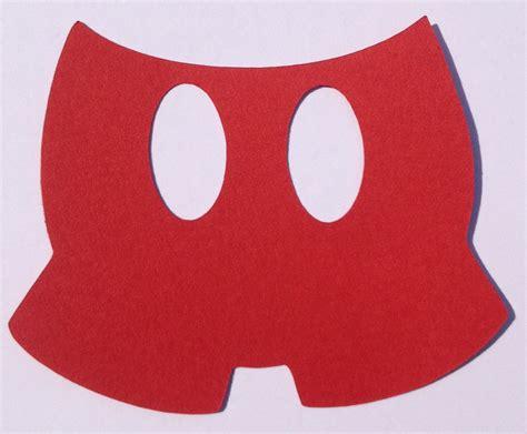 mickey mouse cut    clip art