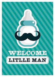 Welcome Little Man   Baby & Family   Send real postcards ...