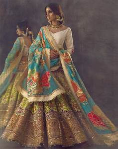10 Prettiest Bridal Lehengas of 2017 | The Small Town Blogger