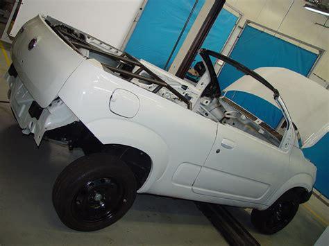 fiat uno cabrio concept prototype construction car body