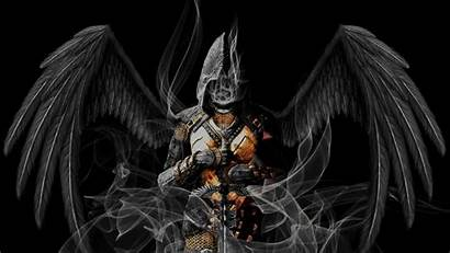 Warrior Angel Angels Warriors Demons Dark Wallpapers