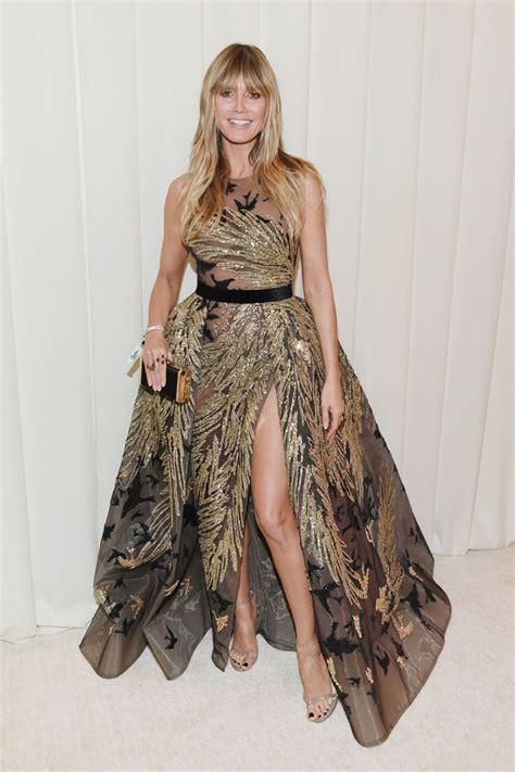 Heidi Klum Elton John Oscars Viewing Party