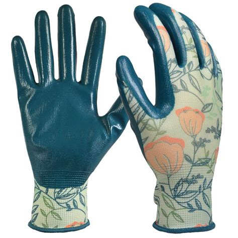 s gardening gloves digz s medium nitrile coated garden gloves 77871 014
