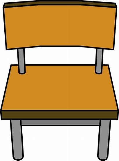 Classroom Chair Desk Clipart Penguin Wiki Wikia