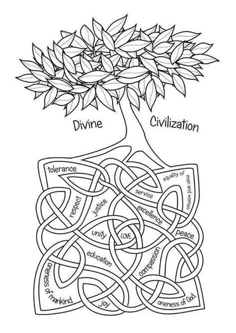 bahai colouring pages facebook bahai  children