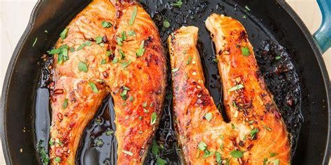 salmon steak cook recipe delish cooking center