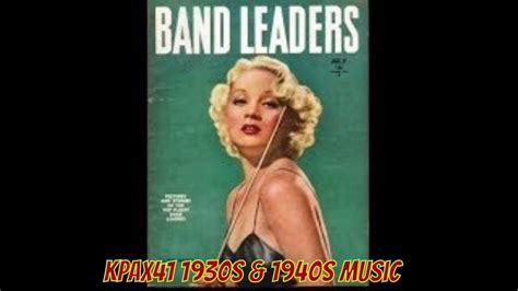 As the 1930s drew to a close, swing was pumping through jukeboxes and radios around the country. HOT Sound Of 1930s & 1940s Swing Orchestra Music @KPAX41 - YouTube