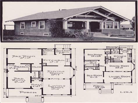 craftsman plans craftsman bungalow floor plans 1920s bungalow floor plans