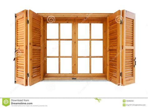 volet interieur pour fenetre fen 234 tre en bois avec des volets photos stock image 36988293