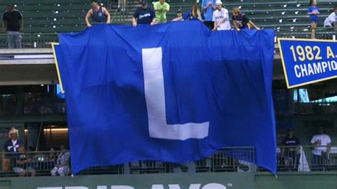 flythel brewers fans troll chicago  cubs loss