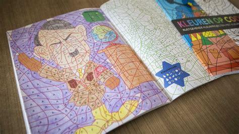 hitler  svastiche da colorare sui libri  bambini