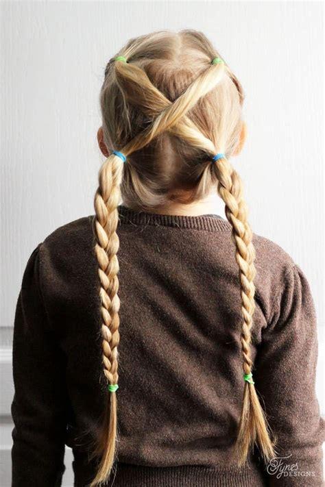 school hairstyles girl loves glam