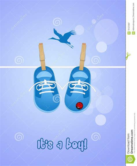 clipart nascita bambino annuncio di nascita bambino illustrazione di stock
