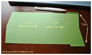 diy pocket wedding invitations make your own With how to make wedding invitations with pockets