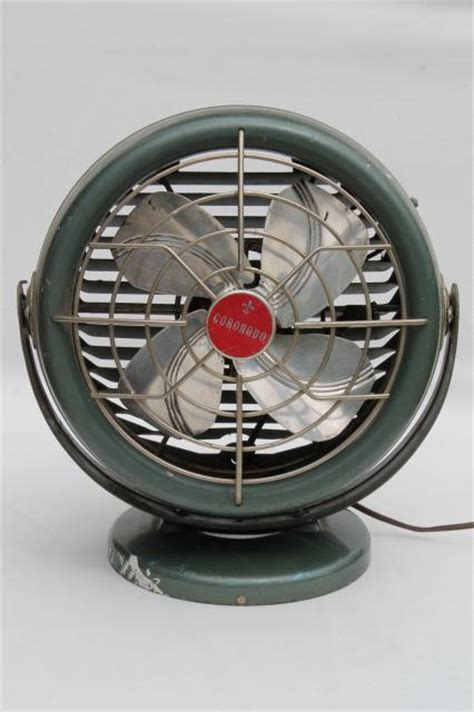 one stop fan shop vintage coronado electric fan mid century modern retro
