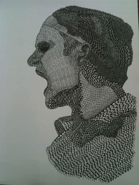 roger federer texture drawing  behance