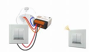Eclairage Sans Branchement Electrique : branchement interrupteur sans fil ajouter un interrupteur sans fil legrand les chroniques de ~ Melissatoandfro.com Idées de Décoration