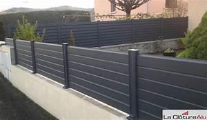 Muret De Cloture : avis et photos des clotures en aluminium la cloture alu ~ Melissatoandfro.com Idées de Décoration