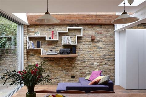 Semi Detached London Terrace House Gets a Bright Modern