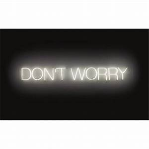 Work 220 Dont worry by Martin Creed on artnet