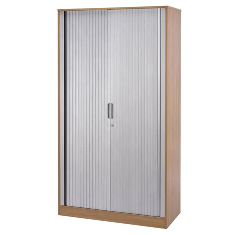 Office Size Paket height wooden office tambour cabinet