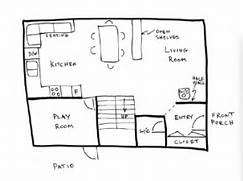 Draw Floor Plan Example 2 How To Draw A House Plan Drawing House Floor Plans House Plan Drawing From A Real Estate Brochure What Is Listed As The Parlor The House Totally Independant Surrounded By An Enclosed Garden