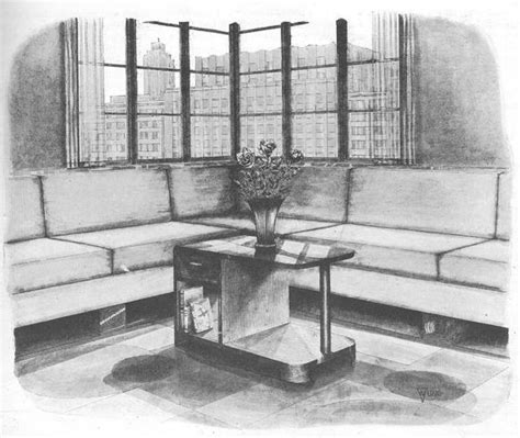 Crafting furniture for the generations. Vintage 1937 Art Deco MODERN Coffee Table Wood Work Plans PDF   Etsy