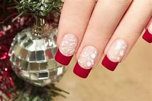 Déco French Manucure : d co ongles no l en 10 id es th matiques pour la saison hivernale ~ Farleysfitness.com Idées de Décoration