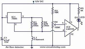 Circuit  Air Flow Detector Circuit
