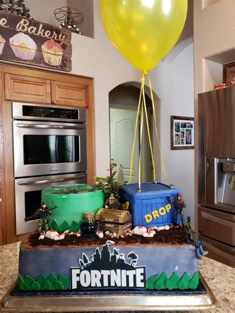 fortnite cake birthday party cake birthday party