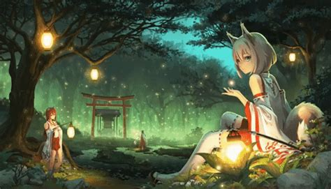 Anime Wallpaper Engine Gif by Wallpaper Engine Anime Gifs Search Find Make