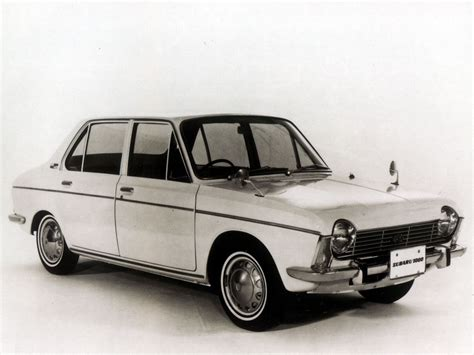 Subaru 1000 4 Door Sedan 196569