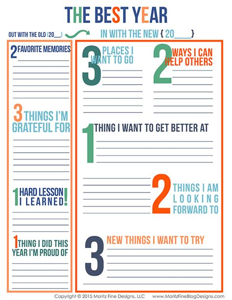 goal setting worksheets for adults free printable